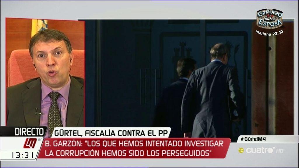 """Joaquim Bosch: """"Tenemos muchos delincuentes en las instituciones y un sistema incapaz de perseguirles con eficacia"""""""
