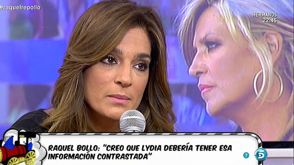 """R. Bollo: """"Lydia está haciendo lo que hacen otros, llegar con una información y soltarla"""""""