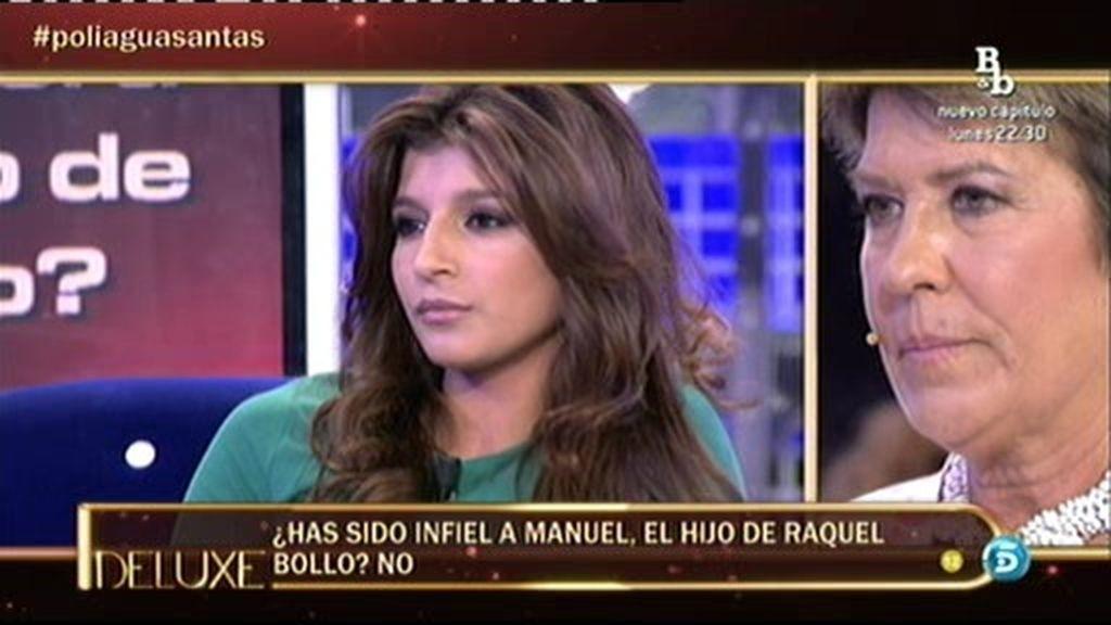 No fue infiel al hijo de Raquel Bollo