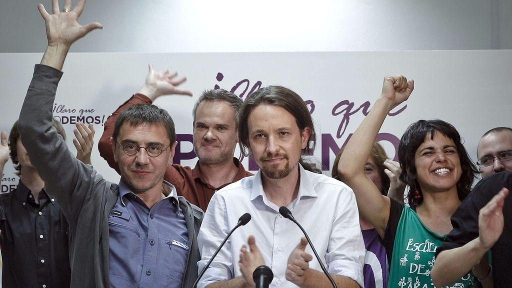 Una nueva forma de hacer política, mítines en las calles y presencia en redes, las claves de 'Podemos'