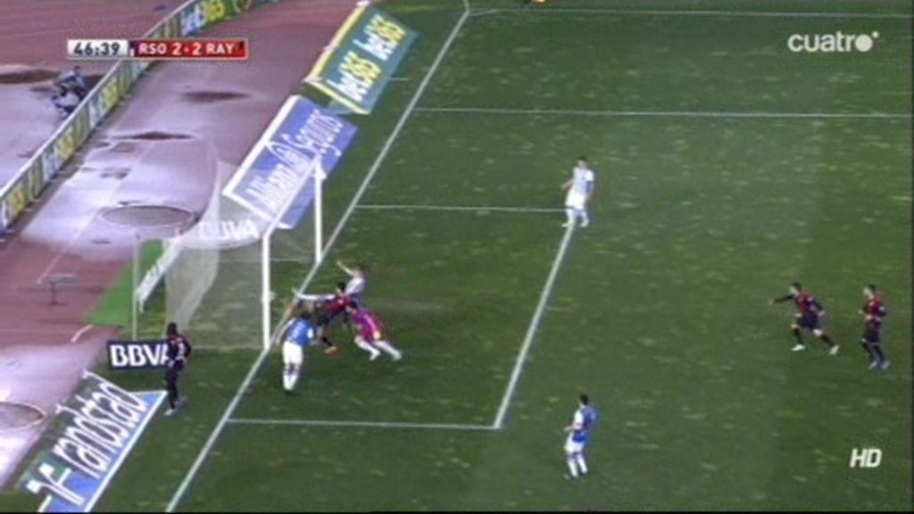 Gol de Bueno (Real Sociedad 2-2 Rayo)