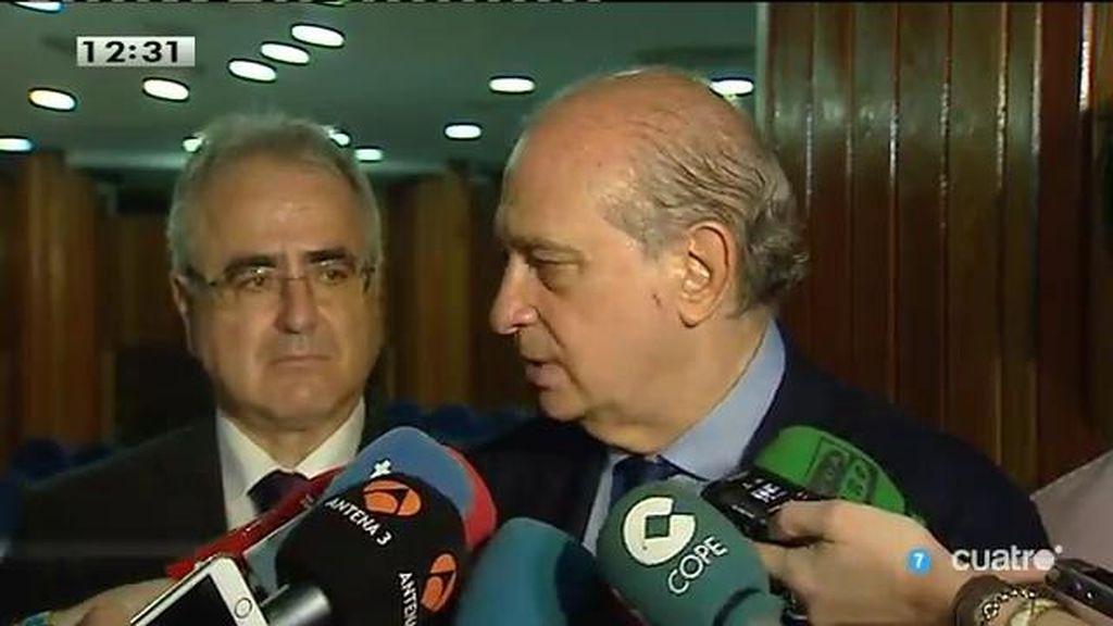 """Fernández Díaz: """"A Iglesias le preocupan más los verdugos que las víctimas"""""""