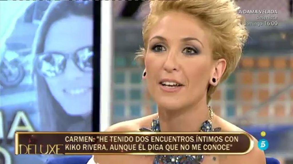 """Carmen: """"Kiko Rivera y yo no utilizamos precauciones, no sé si estaré embarazada"""""""