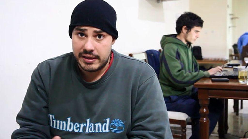 Antonio Pampliega entra en Siria de forma clandestina