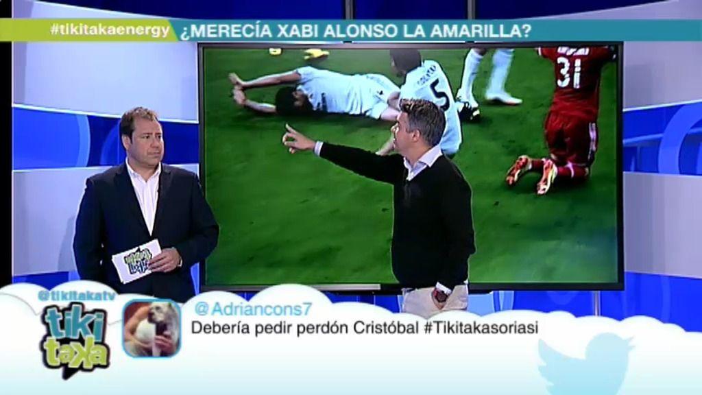 """Pulido: """"Xabi Alonso supo que se perdía la final nada más cometer la falta"""""""