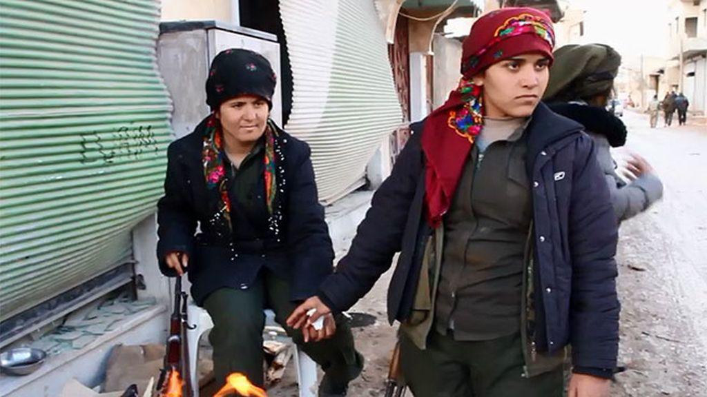 Así actúan las Brigadas de Protección Femenina en Siria