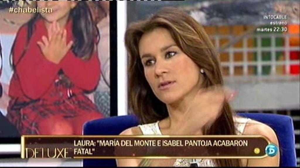 """Laura: """"La yaya le dijo a Isabel que se había equivocado adoptando a Chabelita"""""""
