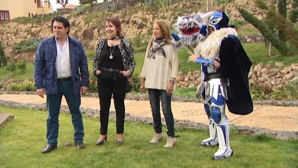Familiares y amigos de Ángel, La Pepa, Cidoncha y Ángel visitan el principado
