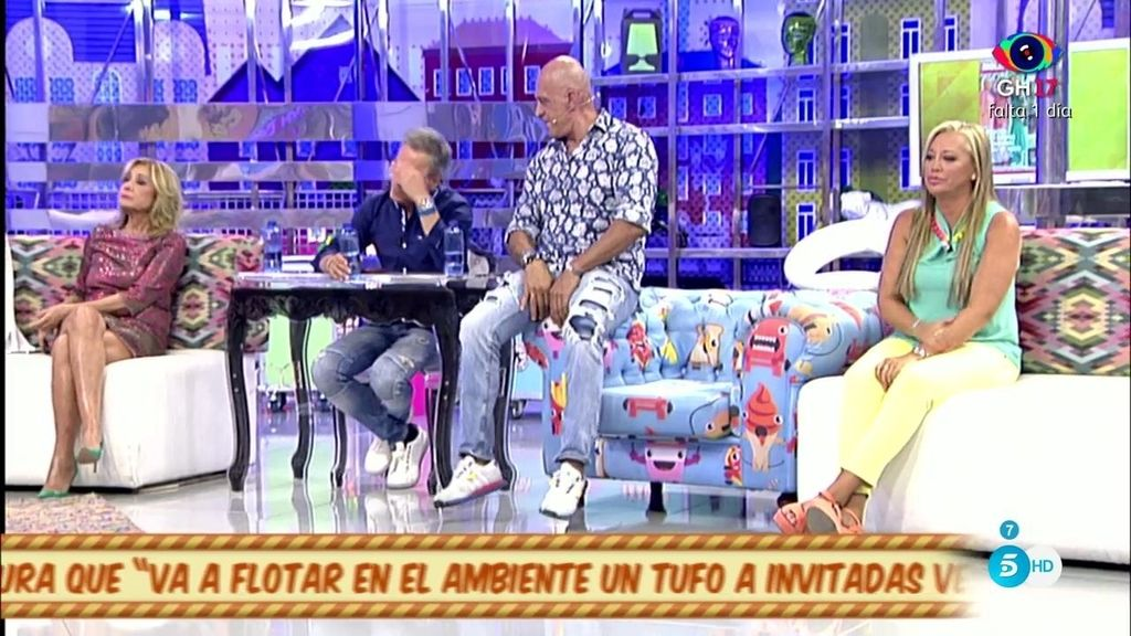 "Belén Esteban llama ""pelota"" a Kiko M. por hablar bien de la familia Campos"