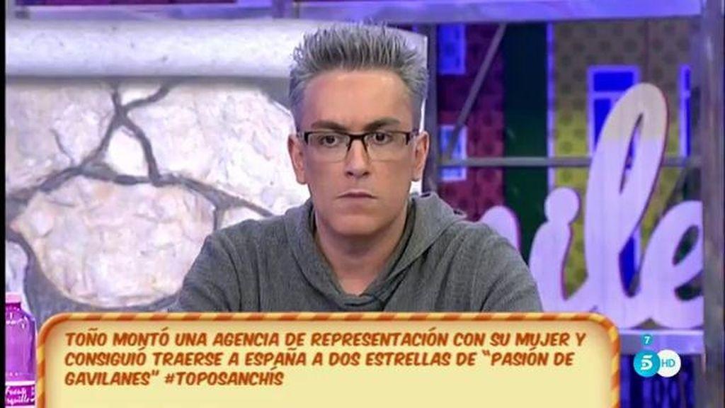 """Kiko H.: """"Me dicen que Toño Sanchís está en silencio porque va a demandar a tres personas, entre ellas Belén Esteban"""""""
