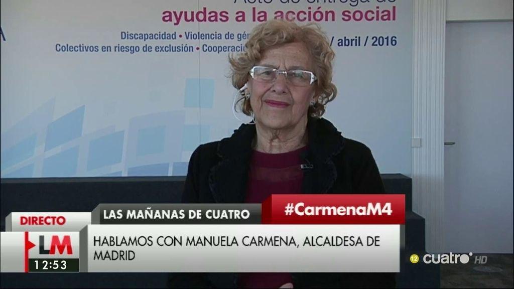 La entrevista a Carmena, a la carta