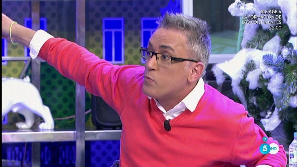 "Kiko Hernández: ""¡Que encierren a Edmundo a pintar camisetas!"""