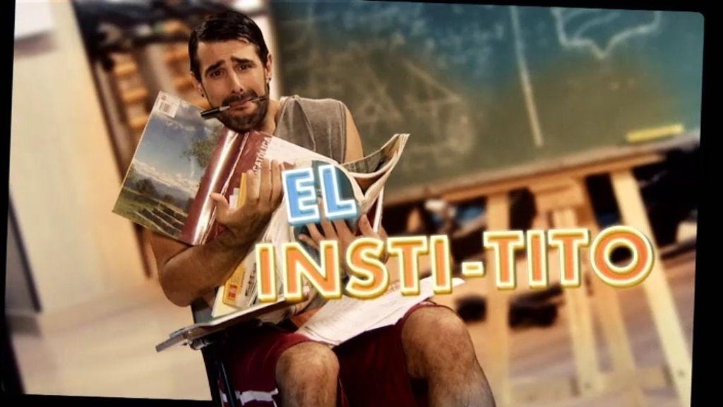 Tito, un alumno más en el instituto