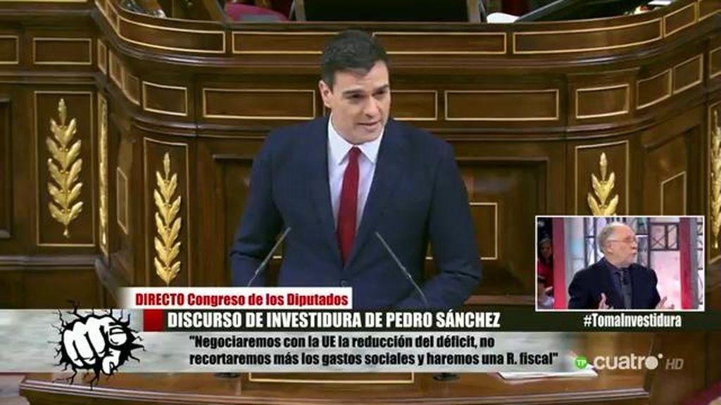 """Ernesto Ekaizer: """"El tono de Pedro Sánchez en su discurso es de autoderrota"""""""