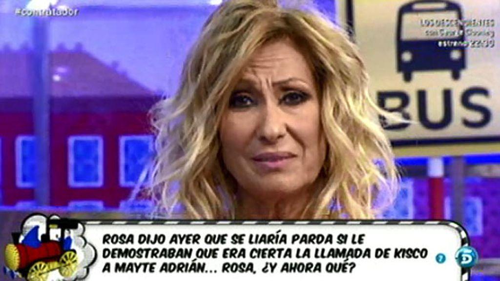 """Rosa Benito: """"Amador, estás vendido y solo"""""""