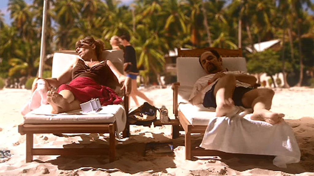 Antonio y Berta disfrutan de su idílica luna de miel en el Caribe
