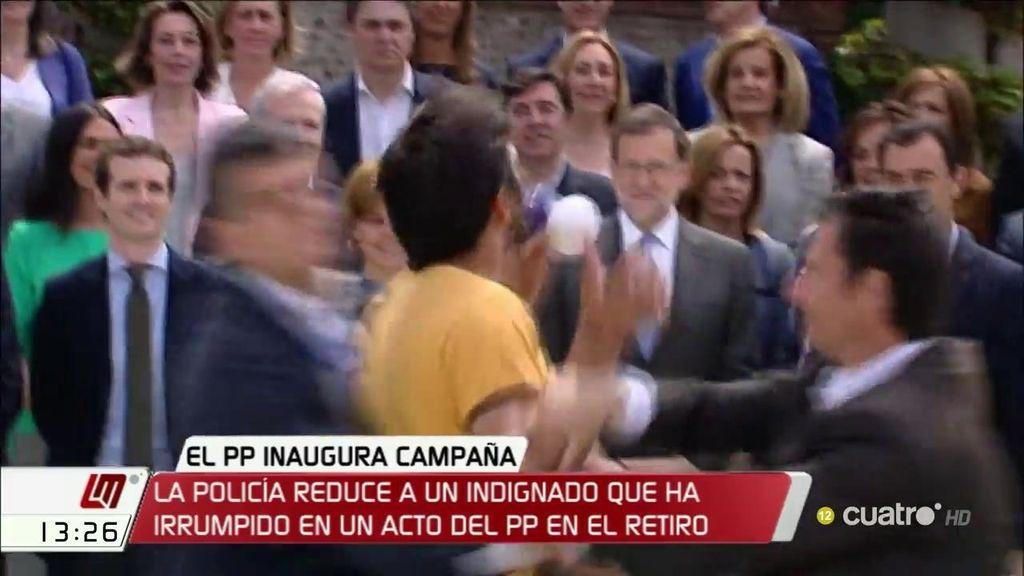 """""""Rajoy, sois la mafia del PP"""""""