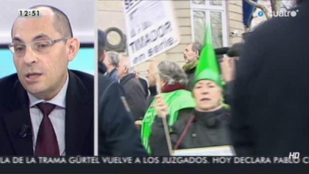"Elpidio Silva, sobre las preferentes: ""No se investiga, a mi modo de ver, correctamente"""