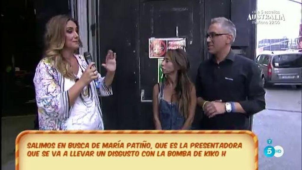 """Kiko, a María: """"Lequio y María Palacios tienen serias dudas sobre tu actuación"""""""