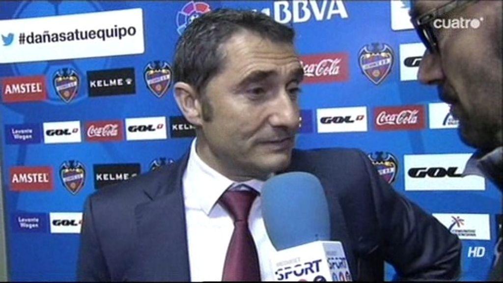 """Valverde, tras el penalti fallado del Athletic: """"Parece que no pero los entrenamos"""""""
