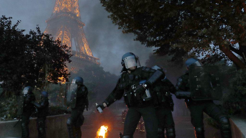Graves incidentes en París durante la final de la Eurocopa: hay cuarenta detenidos