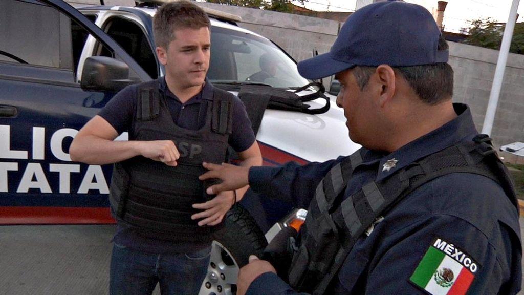 Luis Troya entra en el triángulo de oro de del narcotráfico en México