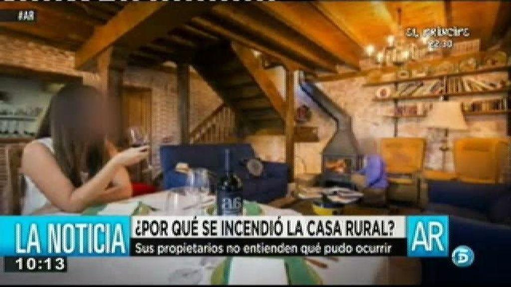 """El propietario de la casa rural: """"Ojalá se hubiera quemado la casa y no hubiera pasado nada"""""""