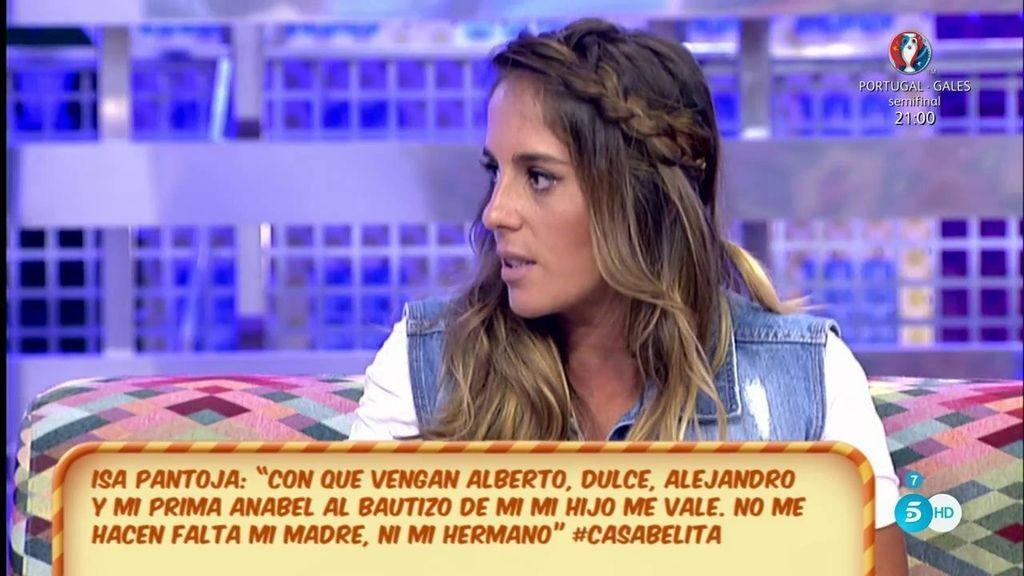 """Anabel Pantoja, de la entrevista de su prima: """"Es avivar un desencuentro grave"""""""