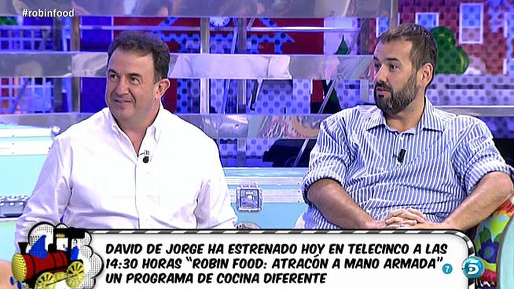 """David de Jorge: """"Siempre digo que la televisión me ha salvado la vida"""""""
