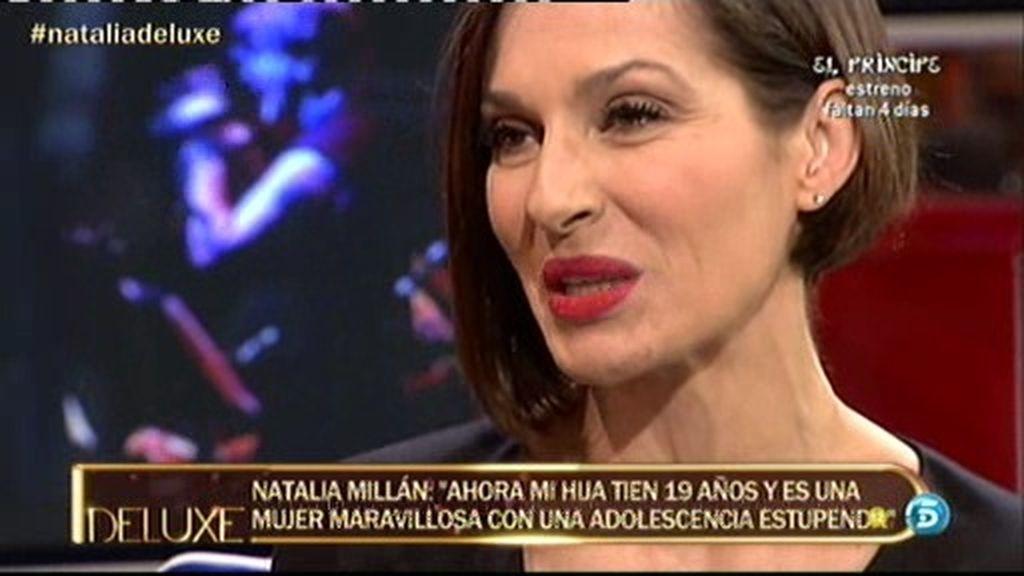 """Natalia Millán: """"Me emociona que mi hija también vaya a ser actriz"""""""