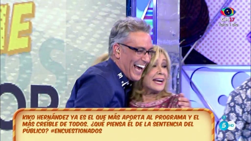 """Kiko Hernández, elegido el colaborador con """"más credibilidad"""" con diferencia"""