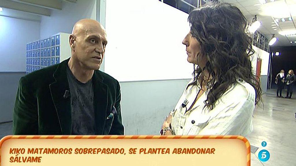 """K. Matamoros, a Paz: """"Para mí es mucho más fácil trabajar con Carlota que contigo"""""""