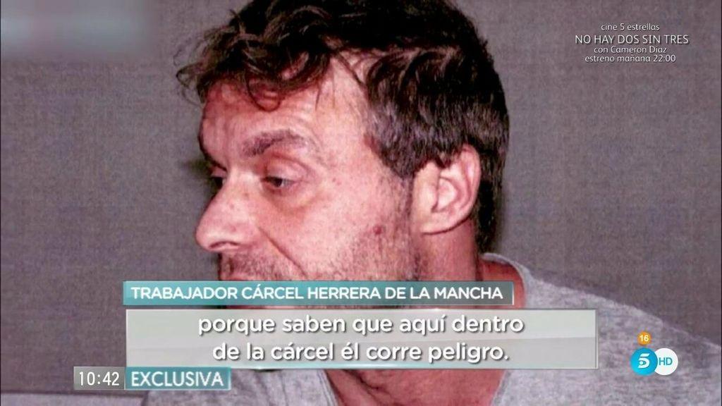 """La vida entre rejas de Antonio Ortiz: """"Corre peligro dentro de la cárcel"""""""