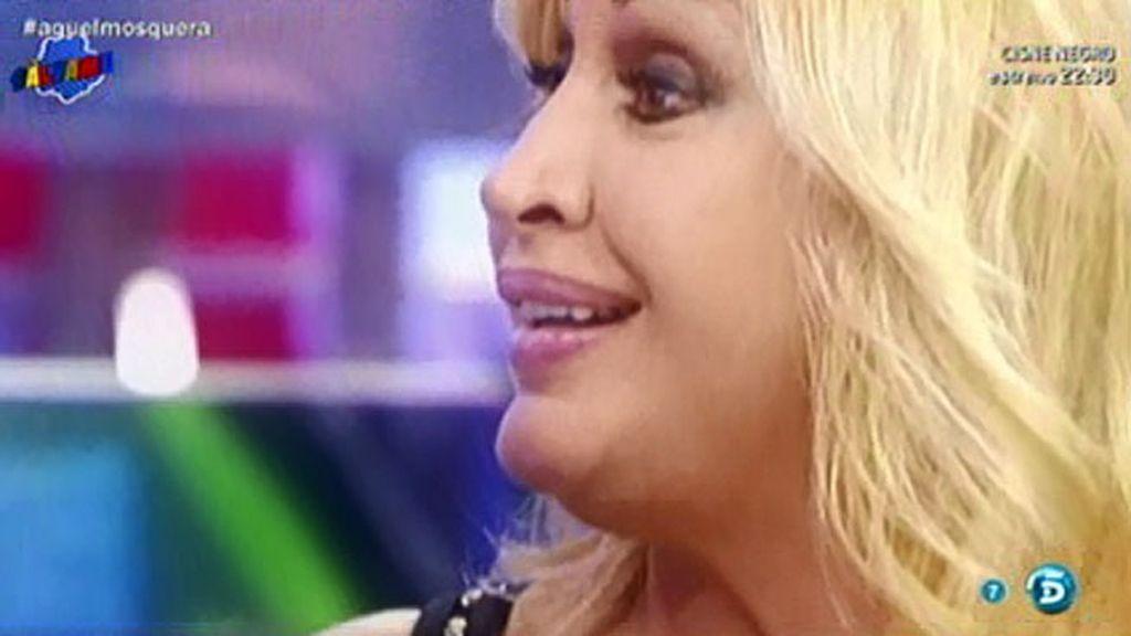 Raquel Mosquera, enamorada de nuevo