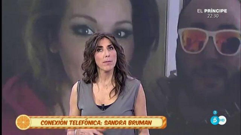 """Sandra Bruman, de Kiko Rivera: """"No llegamos a más porque no quise"""""""