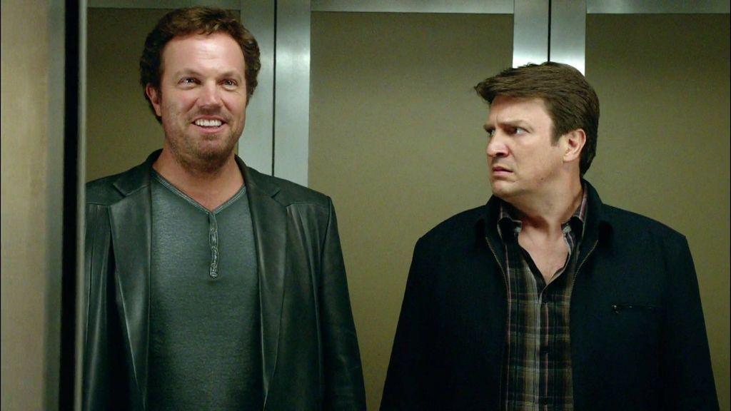 "Castle: ""¿Sabes que Butch y Sundance mueren al final de la película?"""