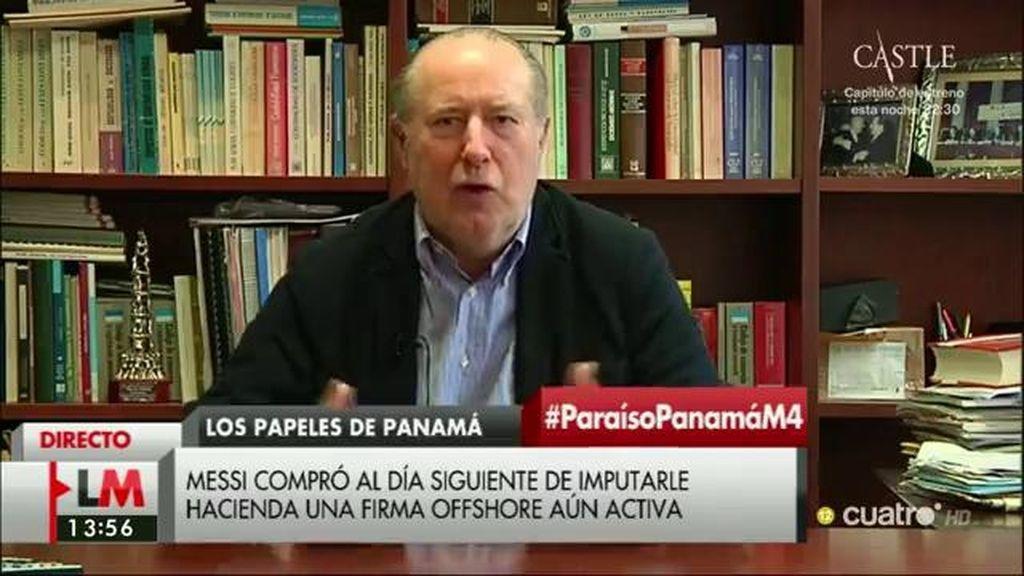 """Gay de Liébana, economista: """"Me sorprende que haya habido pasividad por parte de los estamentos responsables"""""""