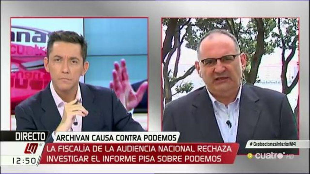 """A. Losada: """"Fernández Díaz no puede seguir ni un minuto más como ministro del Interior"""""""