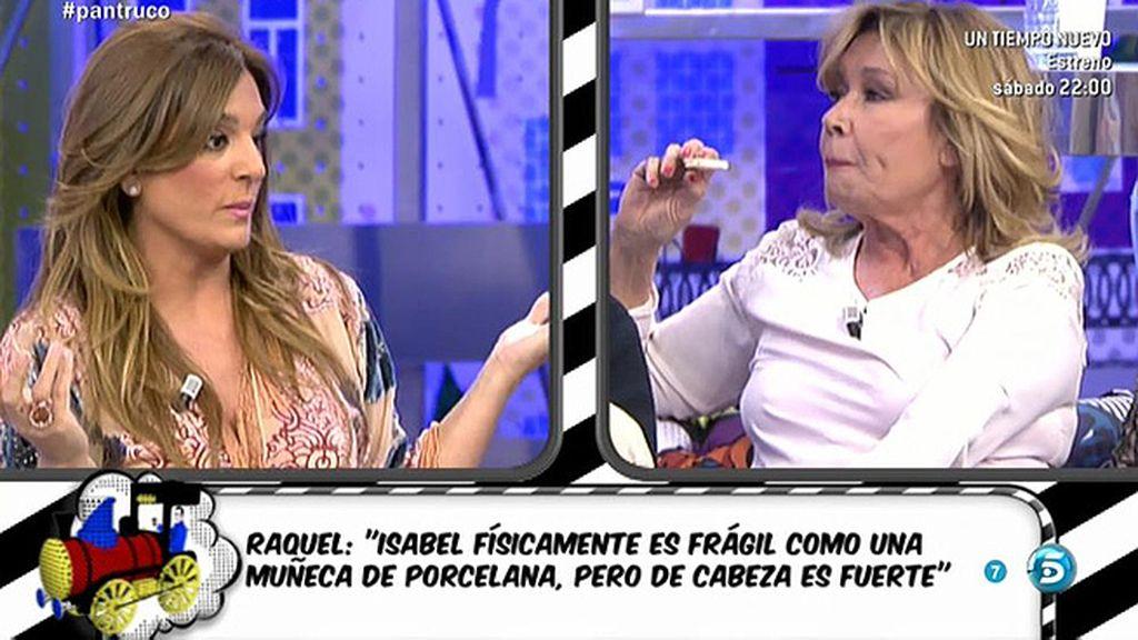 """Raquel Bollo: """"María informa y Mila odia"""""""