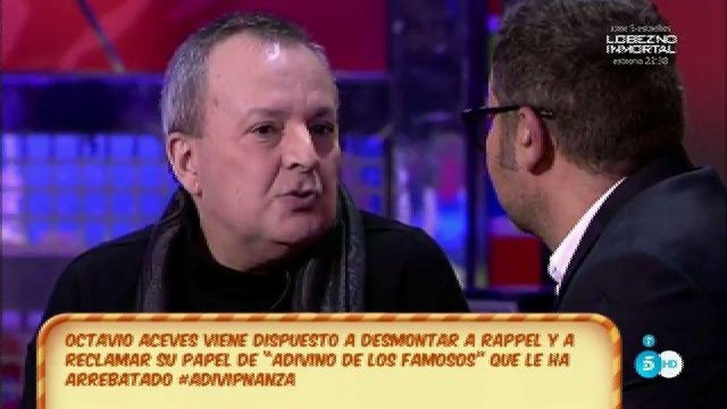 """Ocatvio Aceves: """"Rappel echa mal las cartas"""""""