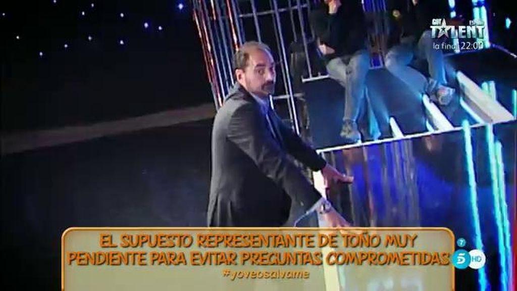 Toño Sanchís ha pasado de representante a representado
