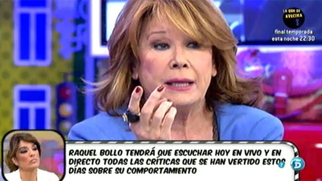Terelu Campos no entiende por qué Matamoros tiene ese sentimiento hacia ella