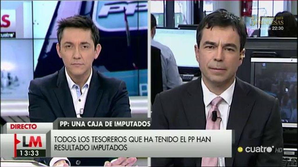"""Andrés Herzog, sobre la imputación del PP: """"El código penal contempla la suspensión temporal y la ilegalización"""""""
