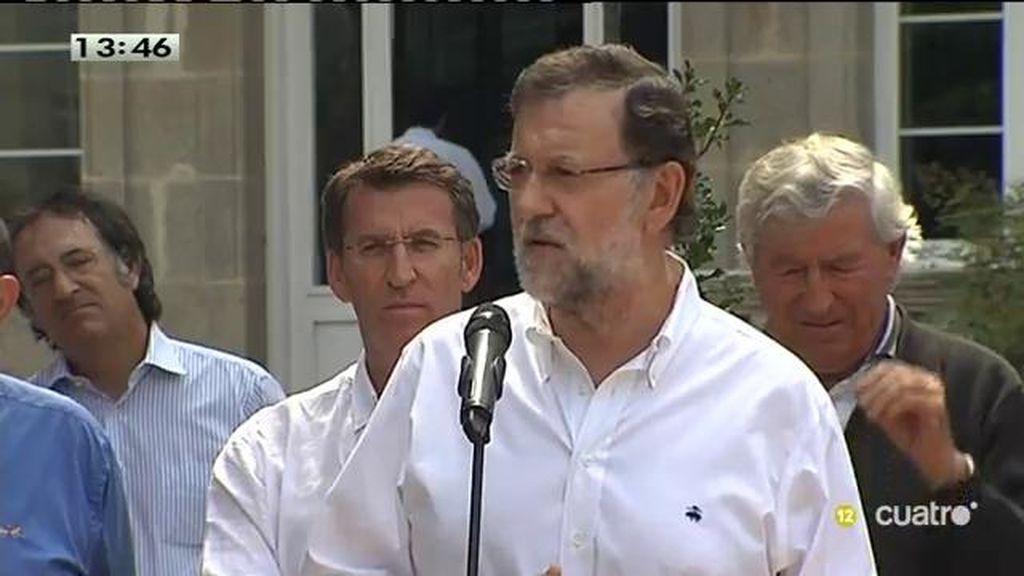 """Rajoy: """"El ministro comparecerá el viernes pero no va a haber nada de particular"""""""