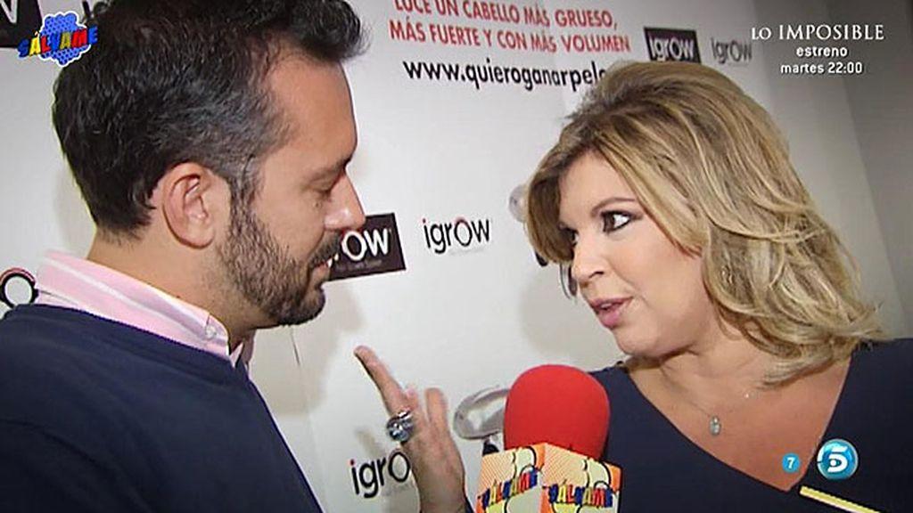 """Terelu Campos, sobre la polémica: """"Me siento muy apoyada por mis compañeros"""""""