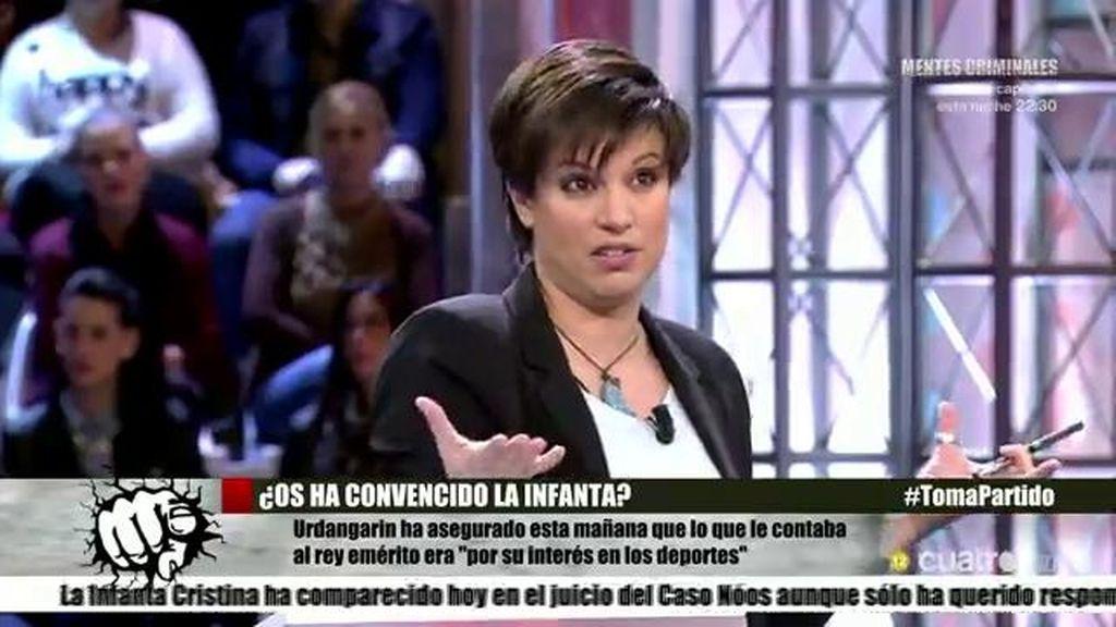 """Beatriz Talegón: """"¿Quién no ha mangado en este país durante toda la democracia?"""