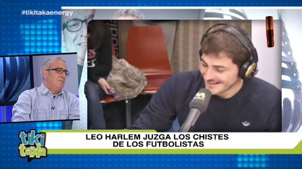 Leo Harlem juzga los chistes de los futbolistas más atrevidos