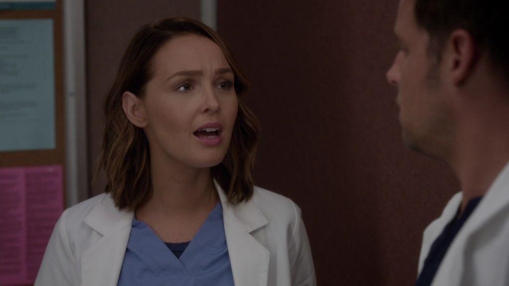 """Jo, a Karev: """"¿Tú quieres tener hijos?"""""""