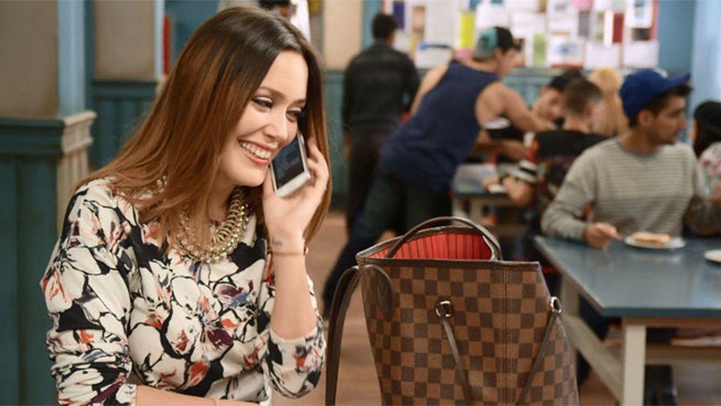 Patricia deja de hacer planes con André para estudiar el guión de la película