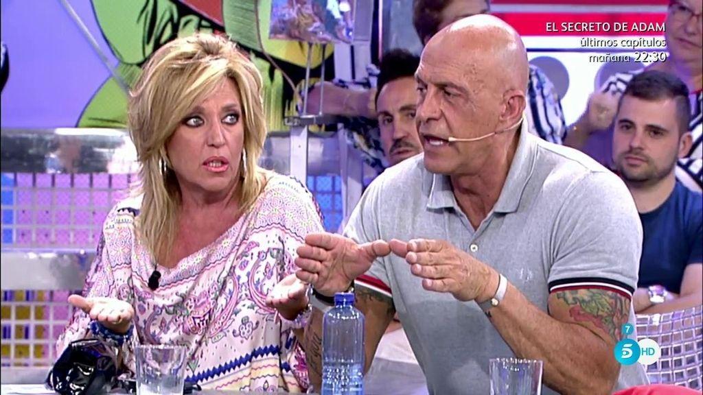 Cristina Tárrega también fue traicionada por Rollán, según Kiko Matamoros